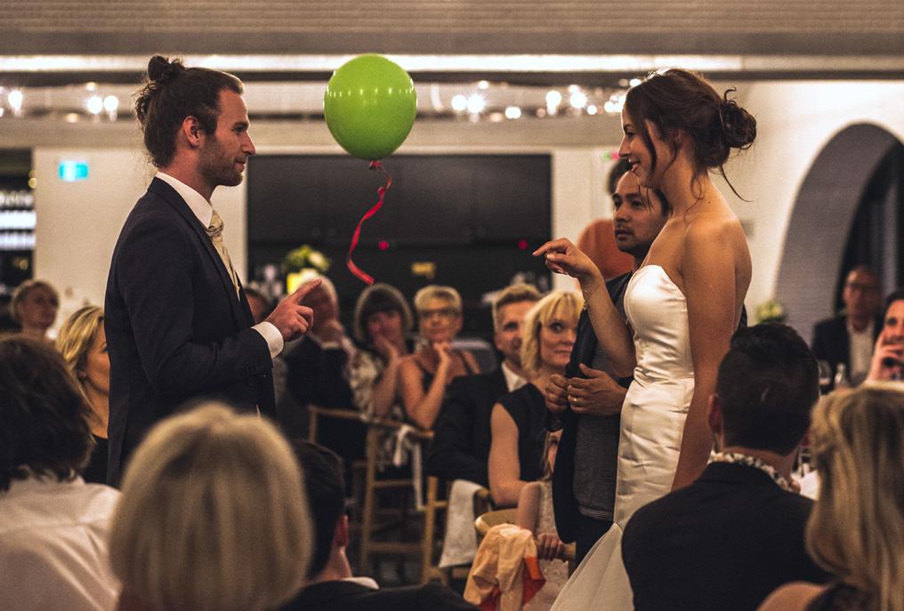 Underholdning til festen Bryllup